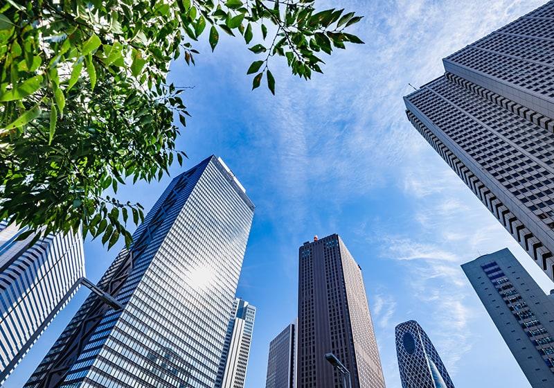 発展した都市